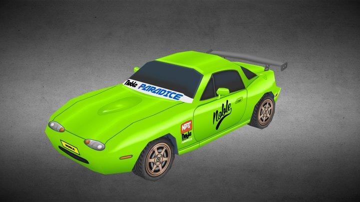 Mazda MX-5 / Miata -NOBLE Edition- 3D Model