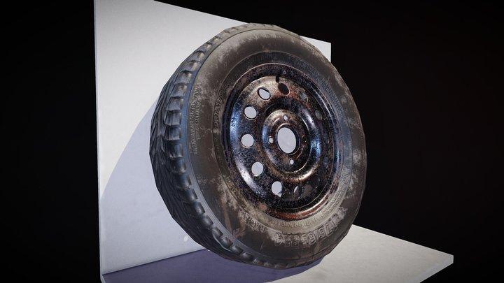 Tyre Lean 3D Model