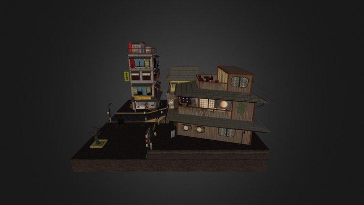 City Scene 2015 Japan 3D Model
