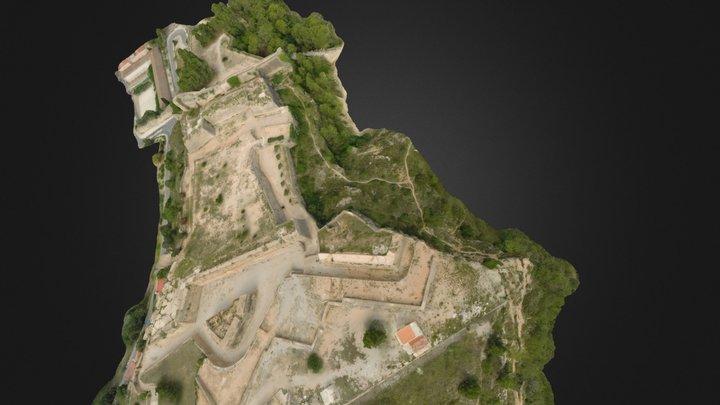 castell 3D Model