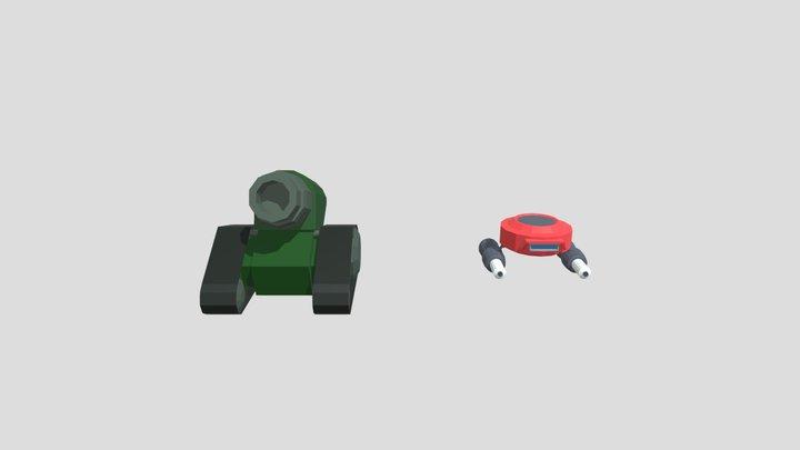 Inimigos 3D Model