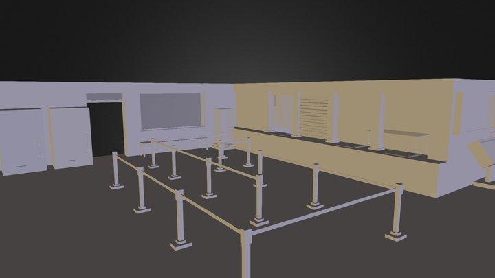 Music Lobby 3D Model