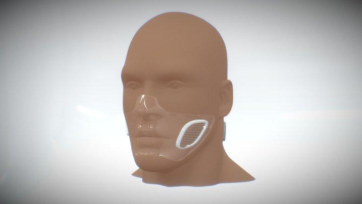 Covid-19 Slim Mask - Grafeno Material 3D Model