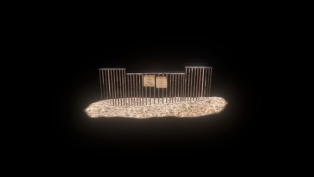Border_Wall_Mobile_B 3D Model