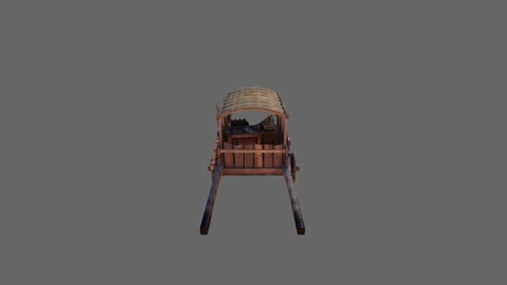 War Cart 3D Model