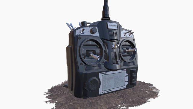 Rc radio transmitter 3D Model