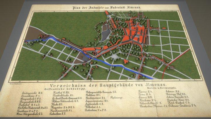 Stadtplanungs-Animation für Intro (Test-3) 3D Model