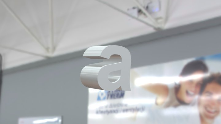 Letter A 3D Model