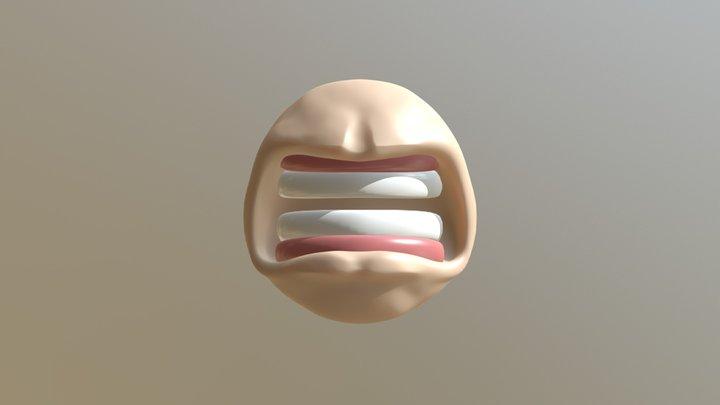 Day 24 - Anger #SculptJanuary18 3D Model