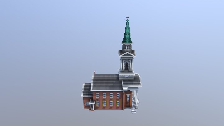 Allentown Church 3D Model