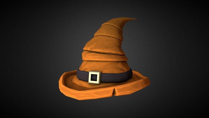 Witch Hat 3D Model