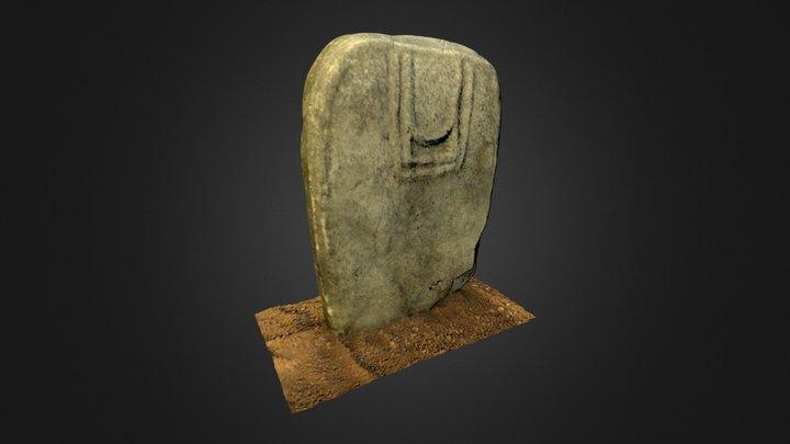 Statue -menhir de Tauriac 3D Model