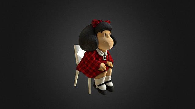 Mafalda Silla 3D Model