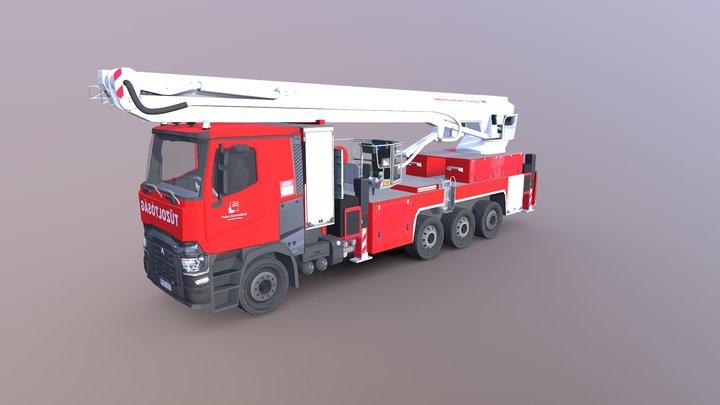 Bronto Skylift FL60XR 3D Model