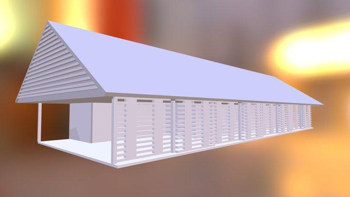 Huscapi 1 piso 3D Model