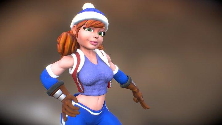 Toni 3D Model