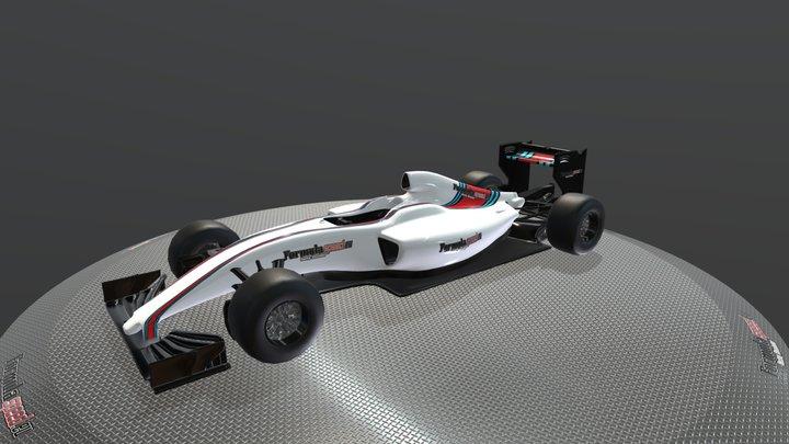 Williams Showcar - Formulaspeed 3D Model