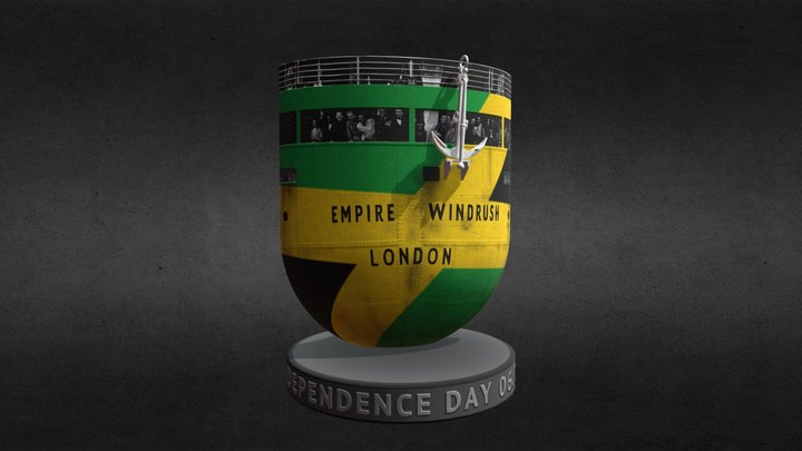 Jamaican Independence Day 2020 3D Model