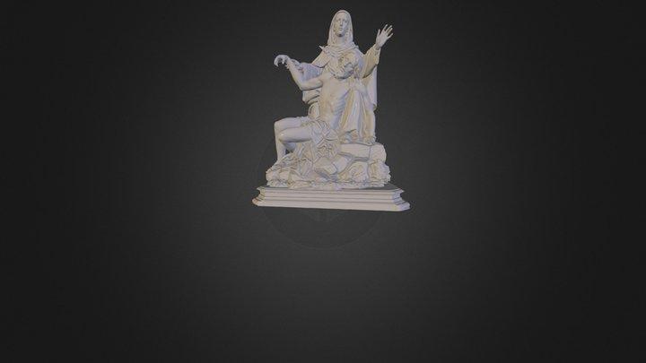 Imagen religiosa 3D Model
