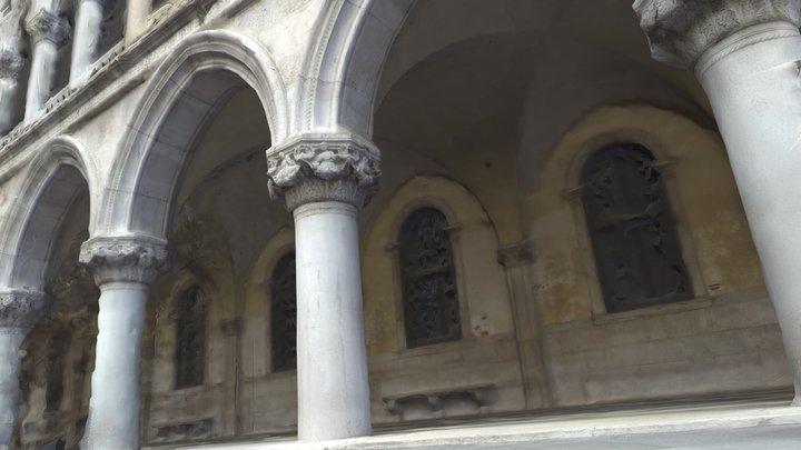 Doge's Palace Pillar 3D Model