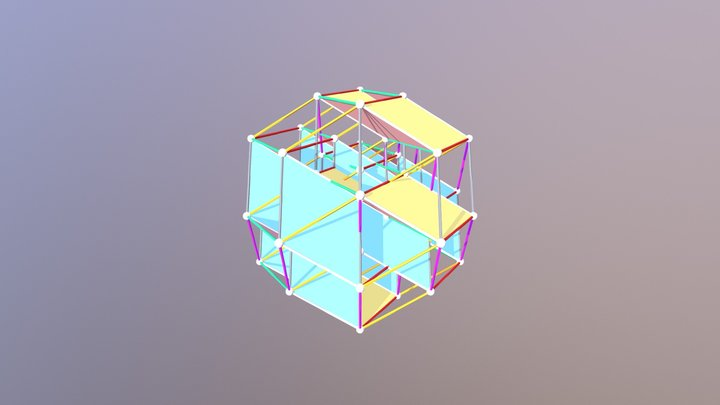 Banchoff-polytope 3D Model
