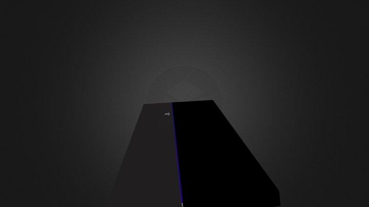 PS4 Console 3D Model