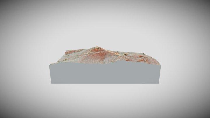 Hradisko Žibrica 3D Model