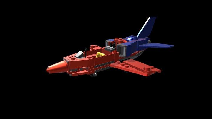 LEGO CITY NO. 60177 3D Model