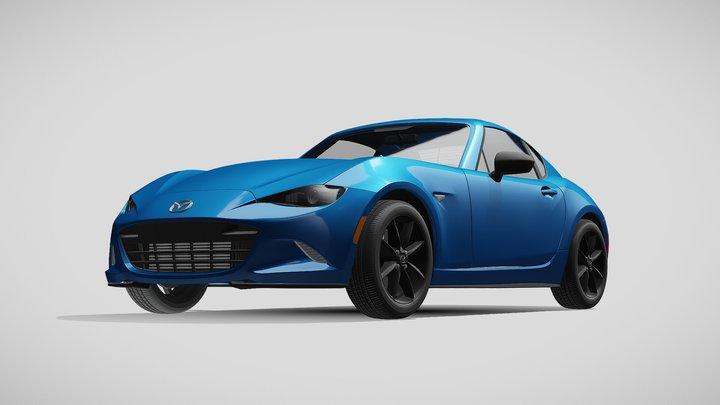 Mazda MX 5 RF Sport Black ND 2020 3D Model