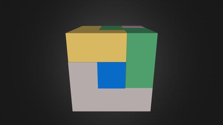 Full cube 3D Model