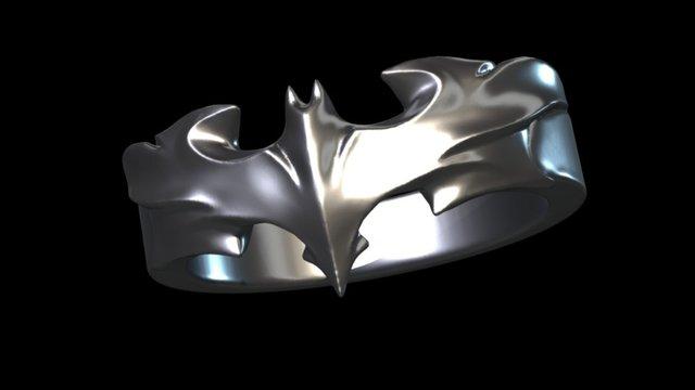 Dark Knight Ring 3D Model