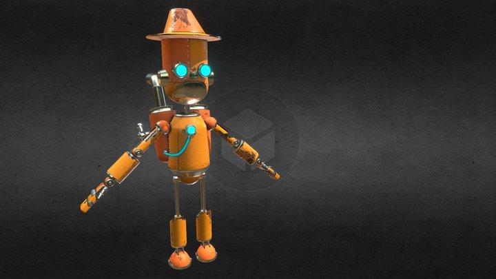 Robot vivo (1.0v) 3D Model