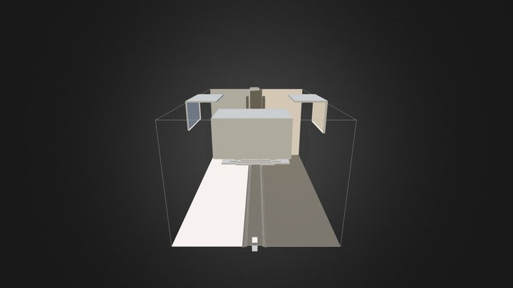 Throne Room 3D Mockup 2 3D Model