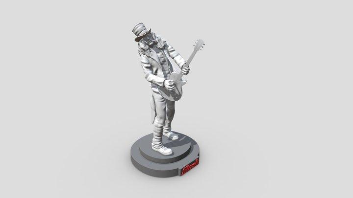 Saul Hudson (Slash) - 3d printable 3D Model