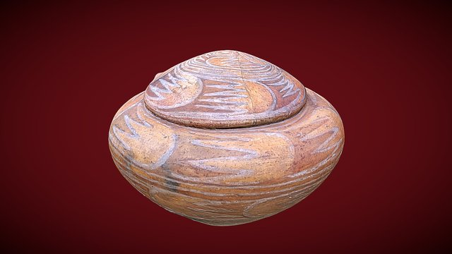 Ceramic from Gumelnita civilization 3D Model