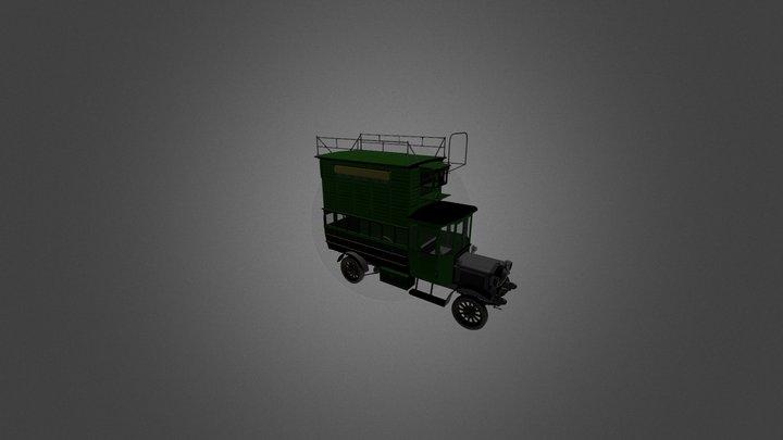 Berleit Dovecote 3D Model