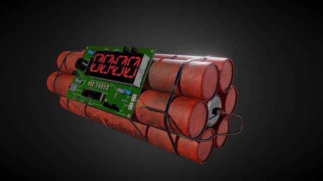 ClockBomb 3D Model