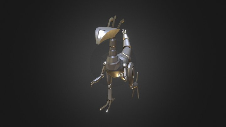 Dino-Mech - Laury the Junker Dino 3D Model