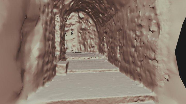 Eski Mardin Abbara Merdiveni 3D Model