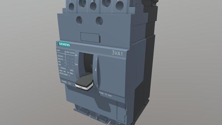 Siemens 3VA1 3D Model