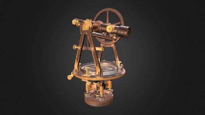 Theodolite 3D Model