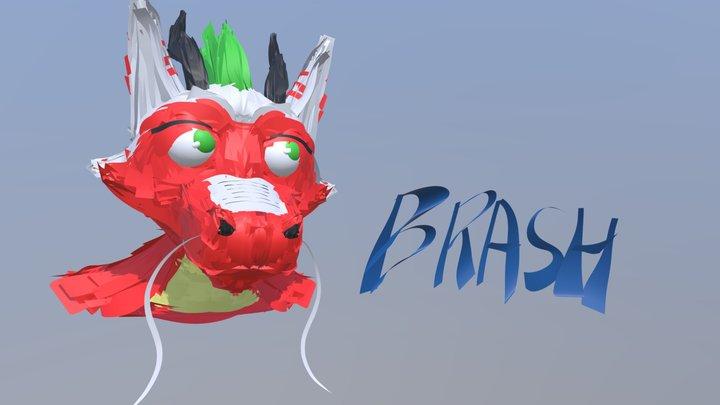 Brash the Dragon 3D Model