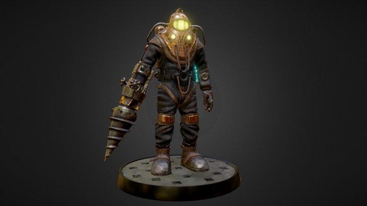 Subject Delta - Bioshock 2 3D Model