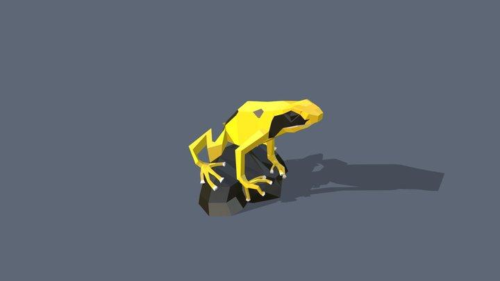 Dendrobate 3D Model