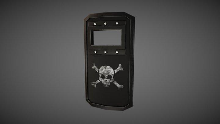 Sentinels of Freedom - Riot Shield 3D Model