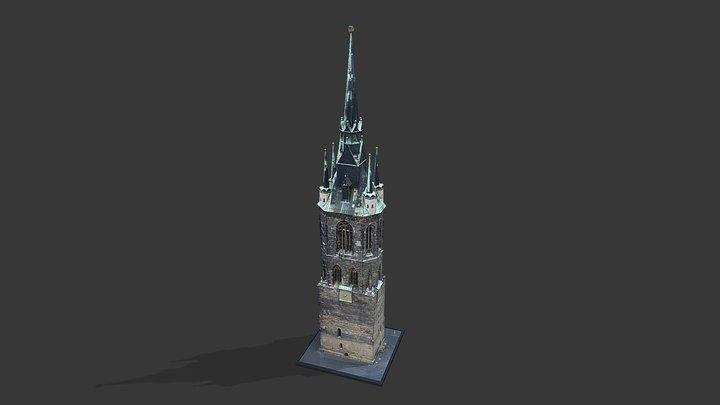 Roter Turm 3D Model