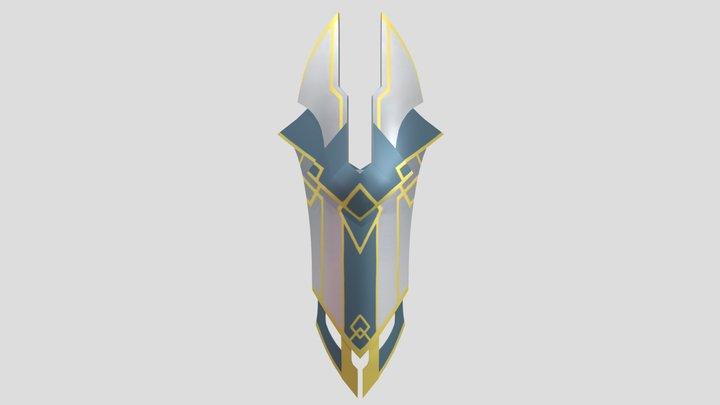 Amaya's Shield 3D Model