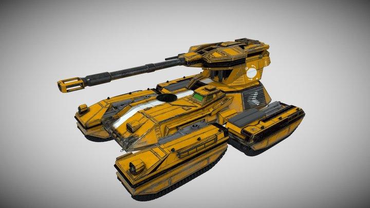 Scorpion Tank (Colonial Variat) 3D Model