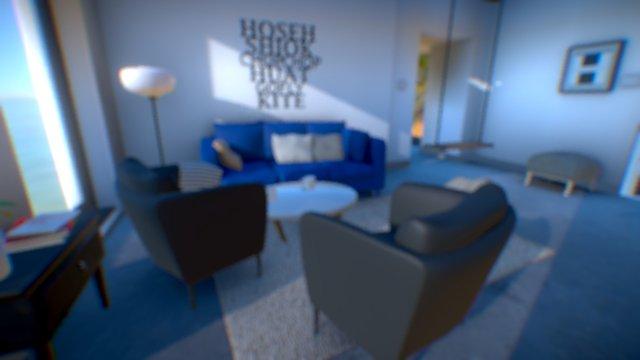 Interior scene - Living 3D Model