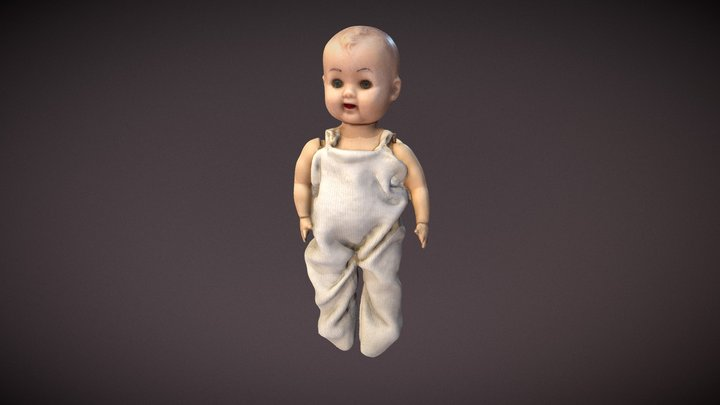Creepy doll susan 3D Model